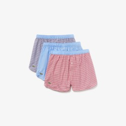 LACOSTE - Set van 3 originele stoffen boxers - 166925